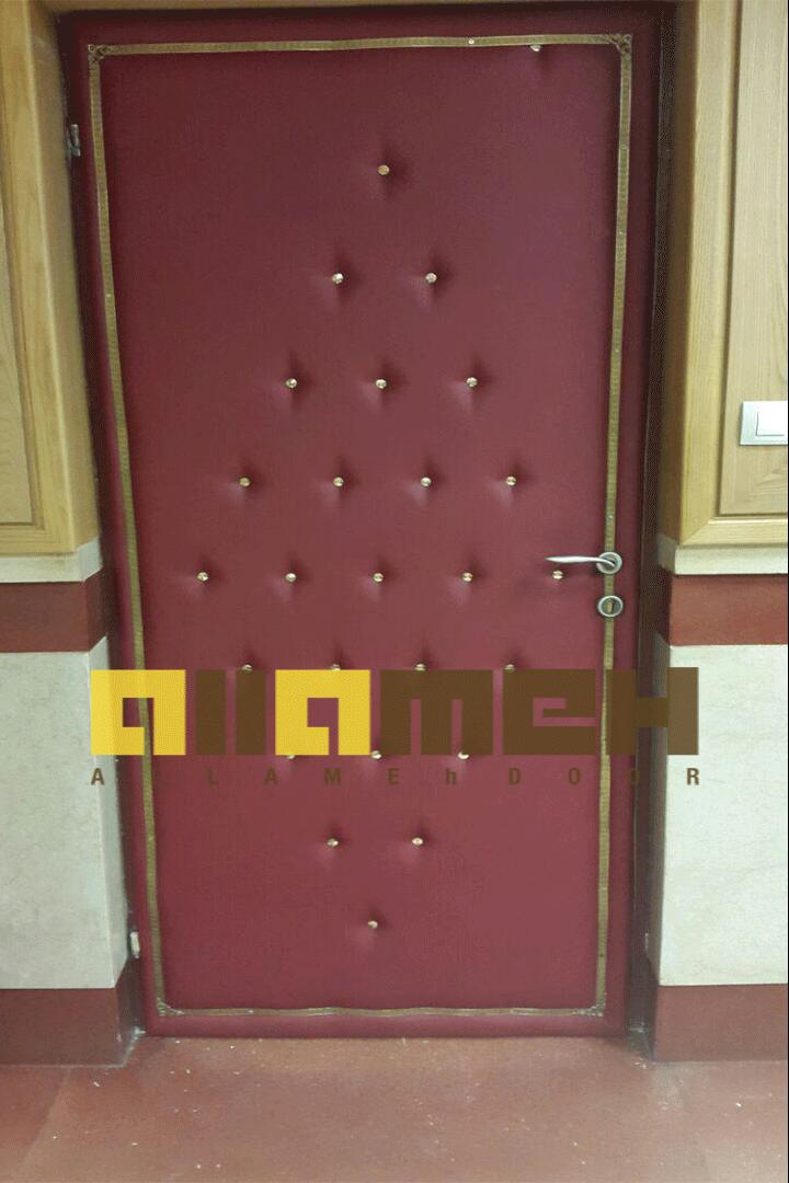درب های چرمی پادگاه قرب نوح